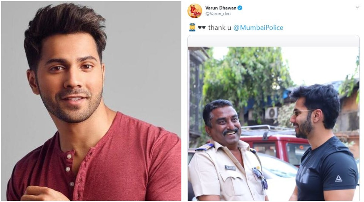 Did Varun Dhawan Break Quarantine to Shake Hands With Policeman Without a Mask? Here's the Truth About the Picture That He Tweeted and Later Deleted!