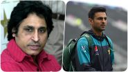 Ramiz Raja Accuses Shoaib Malik's Manager For Misusing His Twitter Credentials? Former Pakistani Cricketer Deletes Tweet After Realising his Folly