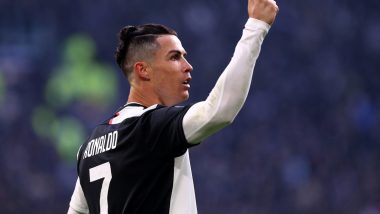 Juventus Relives Cristiano Ronaldo's Hat-Trick Against Cagliari in January Ahead of Their Serie A 2019-20 Game (Watch Video)