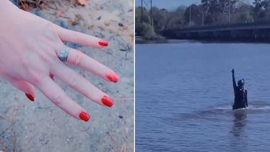 Scuba Diver, Jake Koehler Finds Diamond Ring That a TikTok User Threw Away in River After Husband Cheated on Her (Watch Videos)