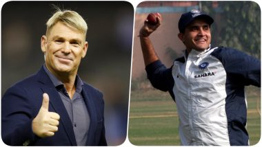 Shane Warne Snubs Virat Kohli, MS Dhoni, Kuldeep Yadav from His India XI, Picks Sourav Ganguly As All-Time Best Captain