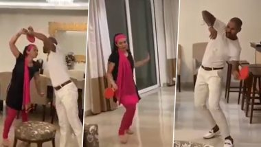 Shikhar Dhawan and Wife Ayesha Recreate Famous Bollywood Song 'Dhal Gaya Din' from 1970 Movie Humjoli During Self-Quarantine (Watch Video)