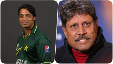 Shoaib Akhtar Responds to Kapil Dev After Former Indian Captain Turns Down India vs Pakistan Series Proposal For COVID-19 Relief Funds