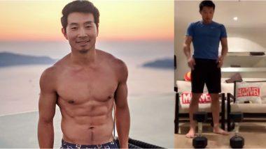 Shang-Chi's Simu Liu Shows His Hilarious Marvel Quarantine Workout
