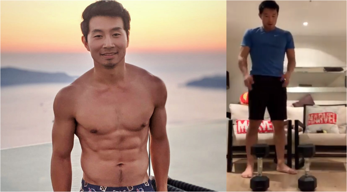 Shang-Chi's Simu Liu Reveals His Hilarious Marvel Quarantine Workout and That's the Energy We Want in Our Lives (Watch Video)