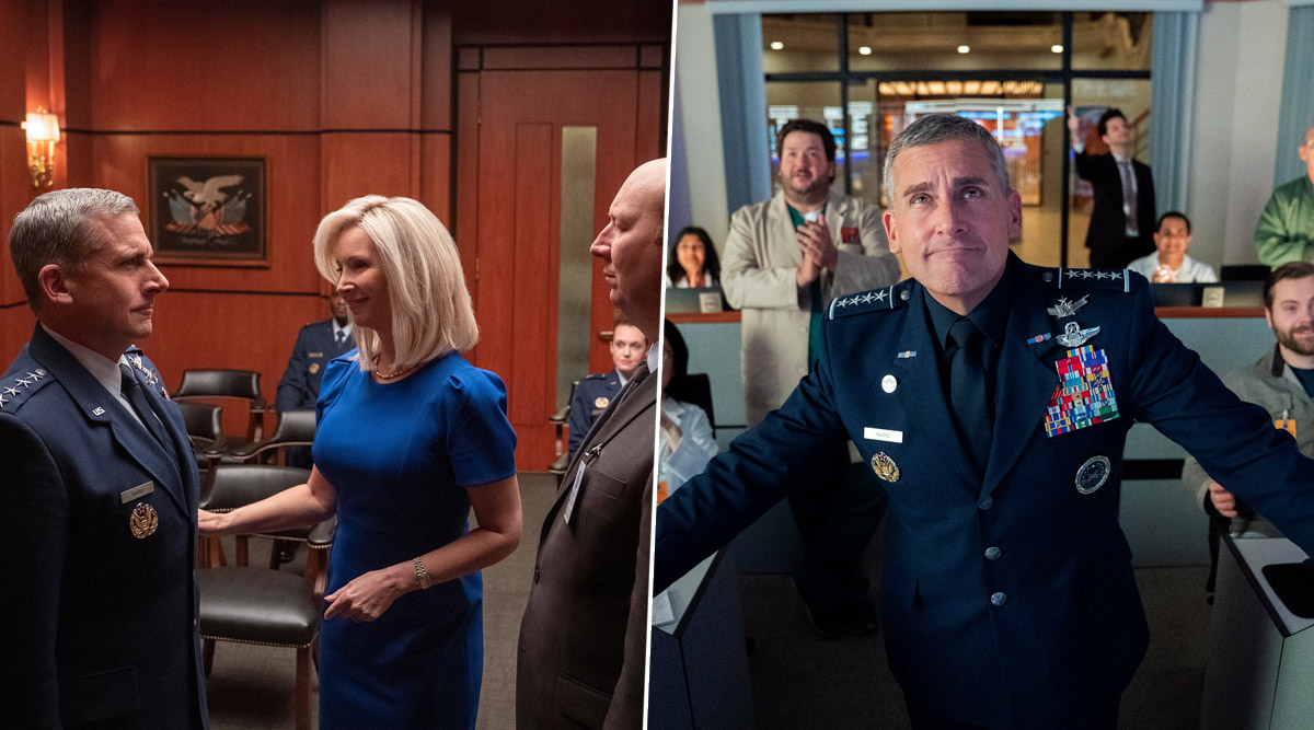 Space Force First Look Launched By Netflix, Steve Carell Reunites With The Office Creator Greg Daniels (View Pics)
