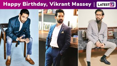 Happy Birthday, Vikrant Massey! Your Dapper Style Moments Reaffirm That Some Boys Pull Off Swag and Class Effortlessly!