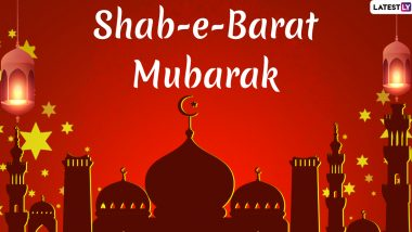 Shab-e-Barat Mubarak 2020 Greetings: Urdu Shayari, WhatsApp Stickers, GIF Image Greetings, SMS & Wishes to Send Ahead of Holy Month of Ramadan