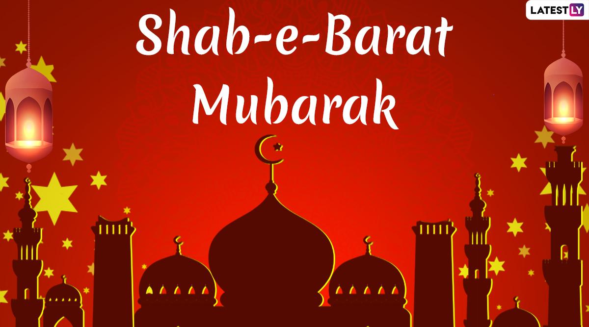 Shab-e-Barat Mubarak 2020 Greetings: Urdu Shayari, WhatsApp Stickers, GIF Image Greetings, SMS & Wishes to Send Ahead of Holy Month of Ramadan