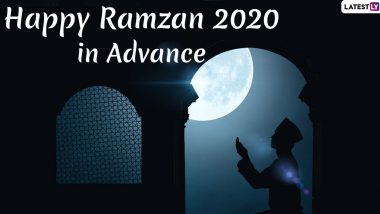 Happy Ramzan 2020 Wishes in Advance: WhatsApp Stickers, Ramadan Mubarak HD Images, Facebook Messages & GIF Greetings to Start the Holy Month