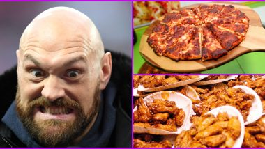 HULK Order! Boxer Tyson Fury Orders Pizza and Chicken Wings Worth Over Rs 50,000 Approx Amid Coronavirus Lockdown