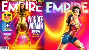 Gal Gadot's Wonder Woman Shines on the Cover of Empire Magazine in Retro-Neon Glory (View Pics)