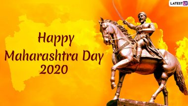 Happy Maharashtra Day 2020 HD Images & Wishes: WhatsApp Status, Maharashtra Din Messages and Facebook Greetings to Celebrate the State Formation Day on May 1