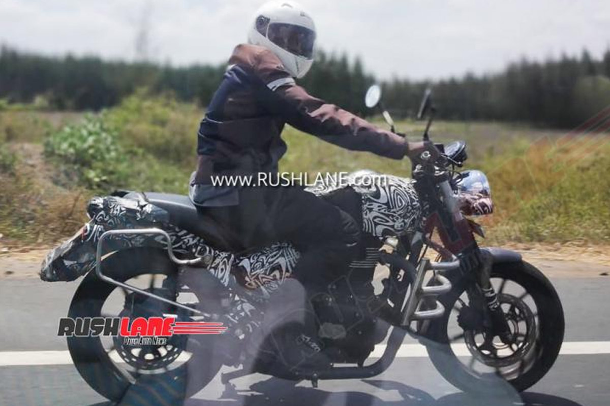 Royal Enfield Hunter Motorcycle First Spy Images Surface Online