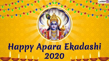 Apara Ekadashi 2020 Wishes and Greetings: WhatsApp Stickers, Ekadashi HD Images, Facebook Messages and GIFs to Send on This Holy Day