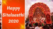 Sitalsasthi 2020 Wishes and HD Images for Free Download Online: WhatsApp Stickers, Lord Shiva and Parvati Photos, Facebook Messages and GIFs to Share on This Day