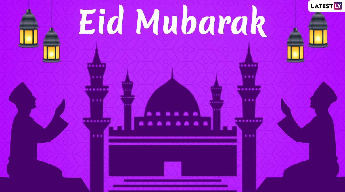 Eid Al-Fitr 2020 Wishes and Messages: WhatsApp Stickers, Eid Mubarak HD Images, GIFs and Facebook Greetings to Share on the Festival