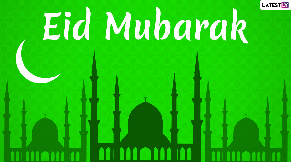 Eid 2020 HD Images & Hari Raya Aidilfitri Wishes For Free Download Online: Send Eid Mubarak Greetings Online With WhatsApp Stickers, GIFs and Facebook Messages