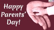 Parents' Day 2020 Messages and HD Images: WhatsApp Stickers, Wishes, Facebook Greetings and GIFs to Celebrate Global Day of Parents