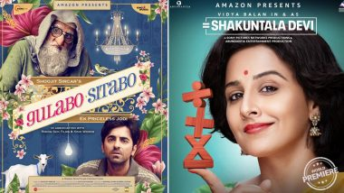 From Gulabo Sitabo to Shakuntala Devi, 7 Films Confirmed For a Straight to OTT Release (Read Deets)