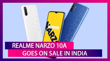 Realme Narzo 10A with MediaTek Helio G70 SoC Goes on Sale in India; Check Prices, Offers, Features, Variants & Specifications