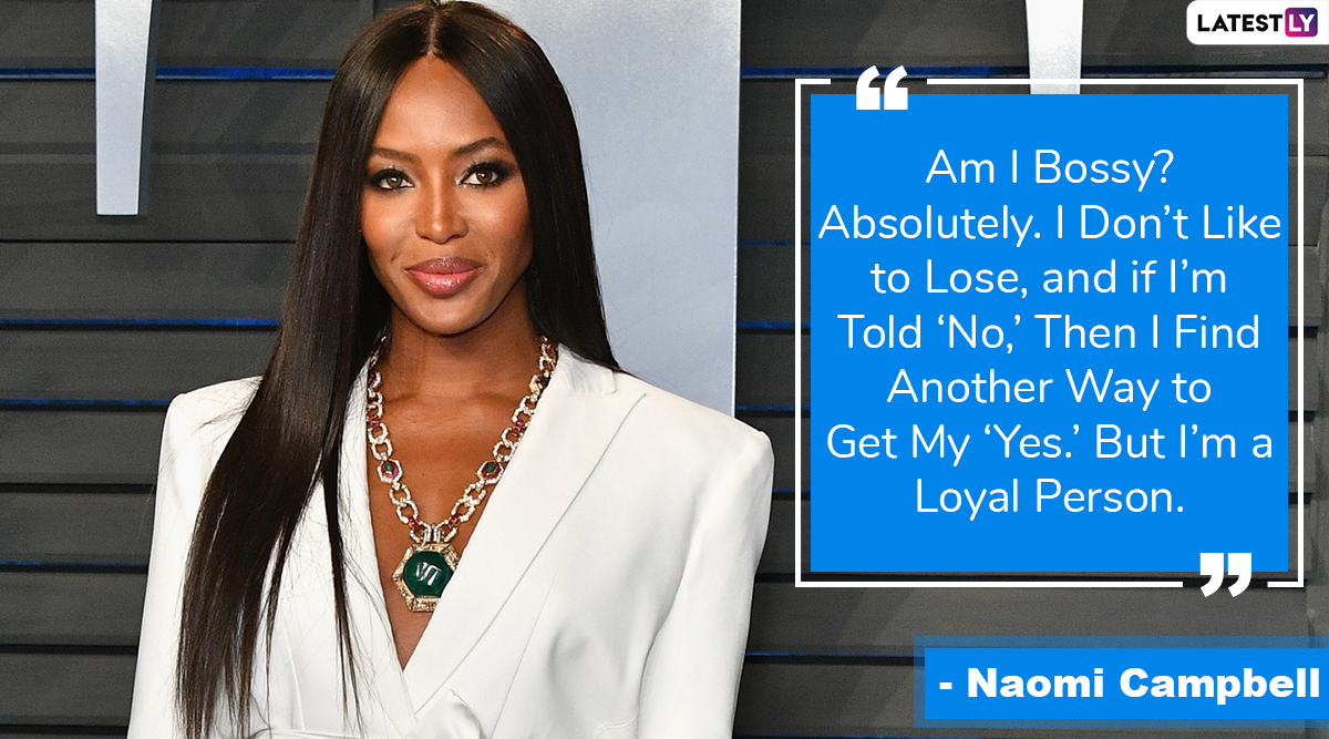 Naomi Campbell Turns 50: These Quotes by the Supermodel Will Inspire You to Live Your Life Like a Queen!