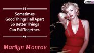 Marilyn Monroe Quotes: 13 Inspirational Sayings By The Evergreen Icon That Can Totally Be Your Next Instagram Caption!
