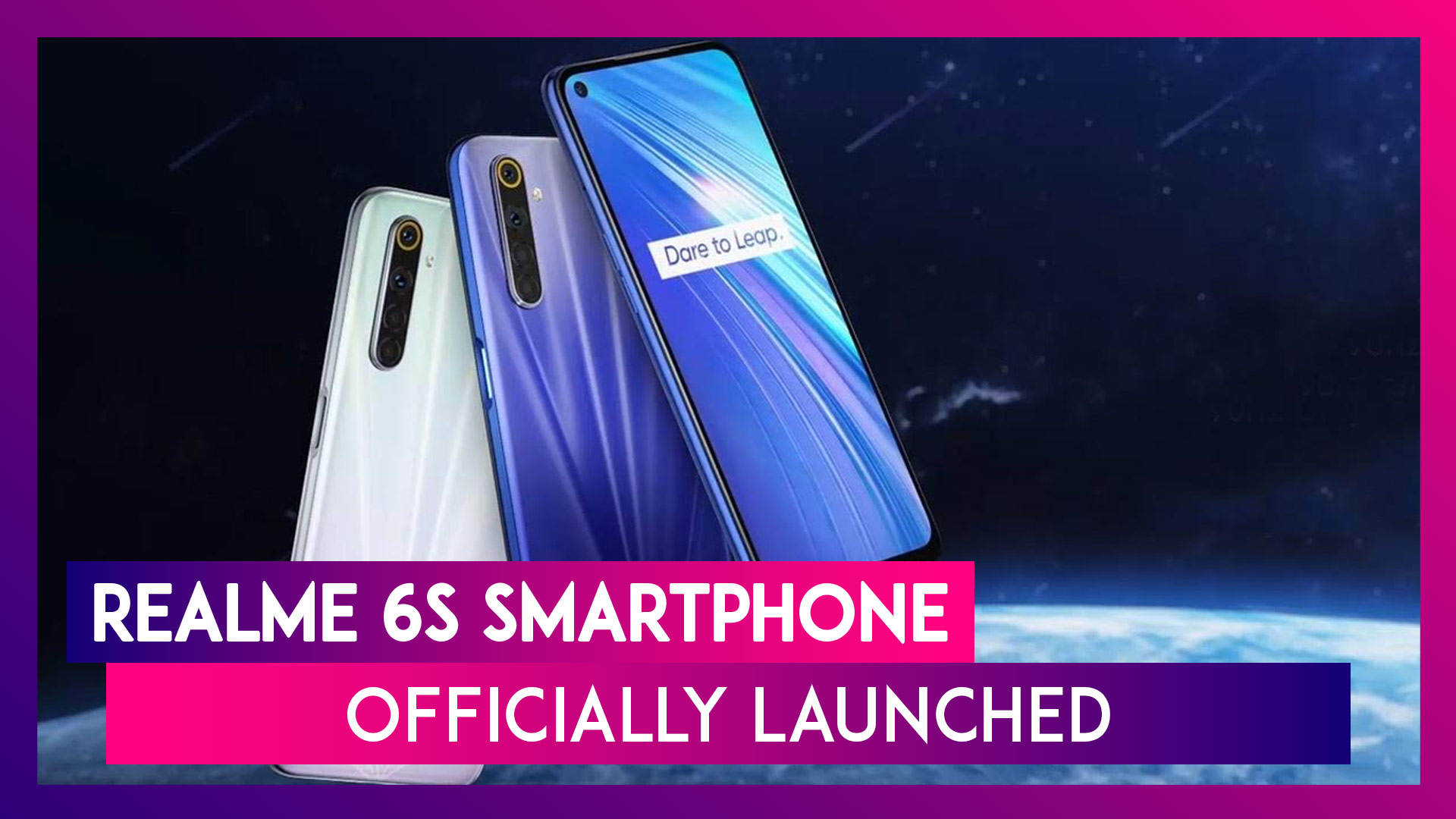 Realme 6s Sporting a 48MP Quad Rear Camera Setup Launched; Check Prices, Variants, Features Specifications