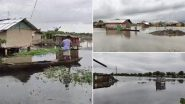 Assam Floods: 7 Districts Affected Due to Flash Floods, Goalpara Worst-Hit With 1.68 Lakh Affected People, Meghalaya on Alert