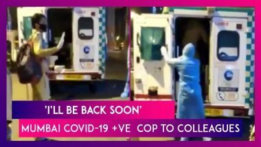 Mumbai Cop Tests Positive For COVID-19, Says 'Don't Worry My Friends, I'll Be Back On Duty Soon'