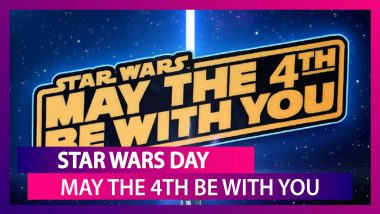 Star Wars Day: What is 'May The 4th Be With You?