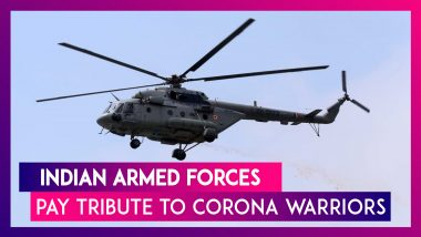 Indian Armed Forces – Air Force, Army And Navy Pay Tribute To Coronavirus With Flypasts & More