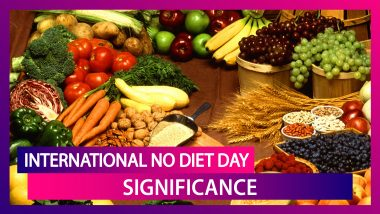 International No Diet Day 2020: Know Significance Of The Day Dedicated To Body Positivity