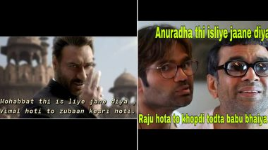 'Mohabbat Hai Isliye Jane Diya' Funny Memes and Jokes: Hilarious Versions of the Irrfan Khan Dialogue Are Going Viral on Social Media
