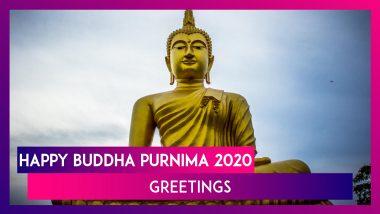 Happy Buddha Purnima 2020 Greetings: WhatsApp Messages & Vesak Greetings To Send On Buddha Jayanti