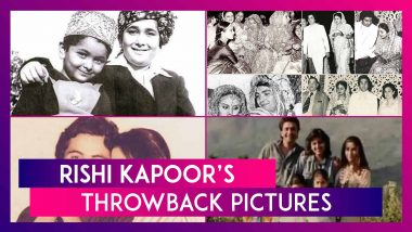 Rishi Kapoor's Throwback Photos Shared By Riddhima Kapoor Sahni, Neetu, Karisma, Kareena, Alia Bhatt