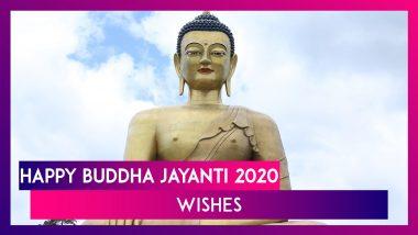 Buddha Purnima 2020 Wishes: Vesak Day WhatsApp Messages To Send Happy Buddha Jayanti Greetings
