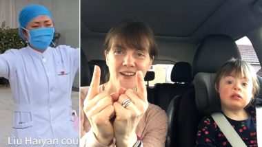 Mother's Day 2020: From Nurse Giving 'Air Hug' to Daughter Amid COVID-19 Pandemic to Moms Singing Alongside Their Kids With Down's Syndrome, 6 Heart-Melting Moments to Cherish Today