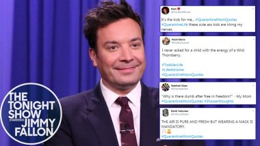 Funny #QuarantineMomQuotes Have Taken over Twitter as Jimmy Fallon Asks for the Quirkiest Things Moms Have Said During Lockdown for Mother's Day 2020