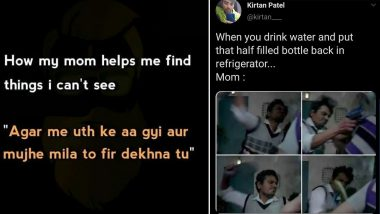 Mother's Day 2020 Funny Memes and Jokes: From Flying Chappals to Obsession with Filled Bottles in the Fridge, Desi Things Moms Do That We Legit Wouldn't Trade For The World!