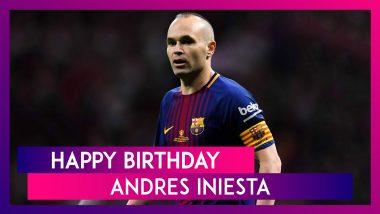 Happy Birthday Andres Iniesta: Five Best Goals By The former Spain & Barcelona Footballer