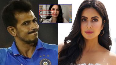 Cricketer Yuzvendra Chahal 'Pops Up' During Bollywood Actress Katrina Kaif's Instagram Live Session, Drops 'Hi Maam' Comment