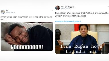 Funny Memes and Jokes On Pakistan PM Imran Khan Counting the Number of 'Zeros in 20 Lakh Crore' Goes Viral as India Announces the Economic Package Before Lockdown 4.0