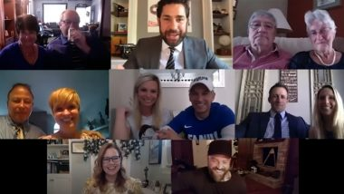 The Office Cast Pulls a Surprise Appearance on John Krasinski's Web Podcast; Celebrates Fan's Wedding By Recreating an Iconic Moment From the Show (Watch Video)
