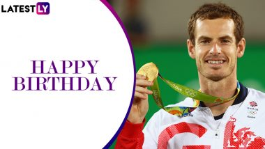 Andy Murray Birthday Special: From Grand Slam Titles to Olympic Gold Medals, Check Out Some Facts About British Tennis Star