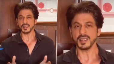 Shah Rukh Khan Urges Everyone to Support Health Care Workers by Contributing Towards PPE Kits and Ventilators (Watch Video)