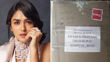 Mrunal Thakur Thanks Fans for Their Contributions as Actress Sends Top-Grade PPE Kits for Healthcare Workers