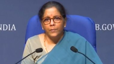 FM Nirmala Sitharaman Gives Break-Up of Rs 20 Lakh Crore Economic Package for 'Aatmanirbhar Bharat' Programme Announced by PM Narendra Modi