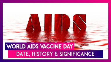 World AIDS Vaccine Day 2020: Know The Date, History & Significance