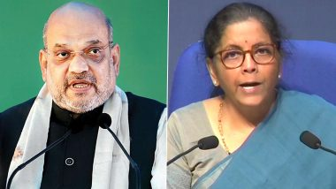 Amit Shah Praises Nirmala Sitharaman's Final Tranche of Economic Package, Says Will Be Game-Changer for Health, Education, Business Sectors
